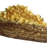 Торт из банановых блинчиков