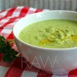 Зеленый крем-суп Гаспачо