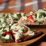 Итальянская сыроедная пицца