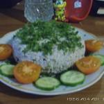 Ореховый сыр с зеленью