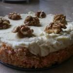 Морковный торт с миндально-кокосовым кремом «АНЮТКА»
