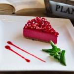 Тортик «Гранатовый всплеск»