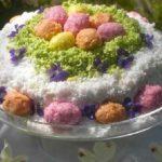 Сыроедческий «Праздничный» торт