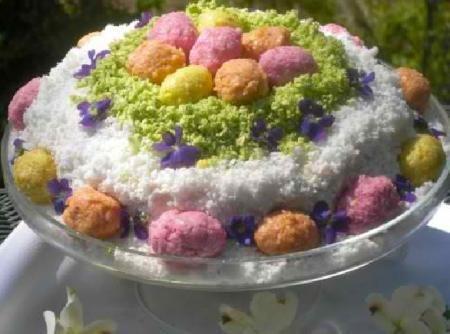 """Сыроедческий """"Праздничный"""" торт"""