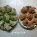 Вареники с авокадо и миндалем (два рецепта)