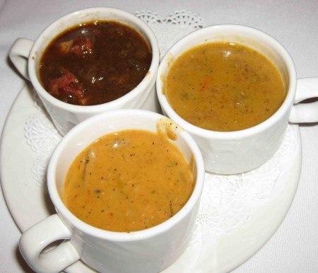 Сыроедческий грибной крем-суп