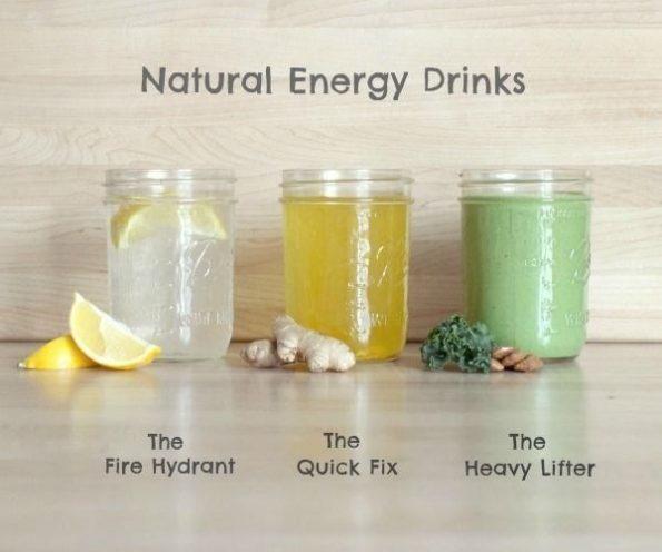 Как приготовить здоровый энергетический