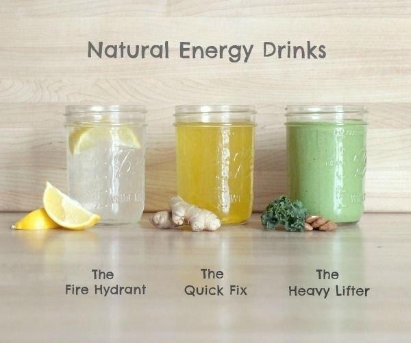 Энергетические напитки. 3 рецепта