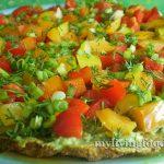 Сыроедческая пицца «Пеперони»