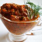 Итальянский томатный соус по сыроедчески