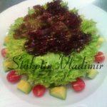 Сыроедческий салат «Бьондо-Россо»