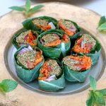 Сыроедческие роллы-фалафель из тыквенных семян